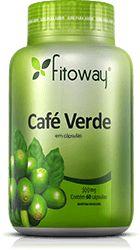 CAFÉ VERDE FITOWAY 500mg - 60 CAPS.