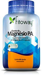 CLORETO DE MAGNÉSIO P. A. FITOWAY - 60 CAPS.