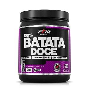 BATATA DOCE EM PÓ FTW - 500g.