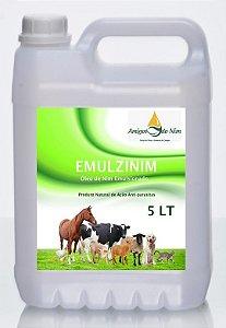 Óleo de Neem Nim Emulsionado Anti-parasitas Cães e Gatos 5 Litros