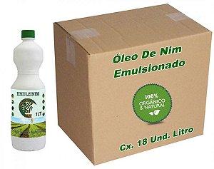 Óleo De Nim Repelente Emulsionado Organico Natural De Neem 18 Litros