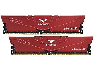 Team T-FORCE VULCAN Z 16GB (2 x 8GB) 288-Pin DDR4 SDRAM DDR4 3000 (PC4 24000) - TLZRD416G3000HC16CDC