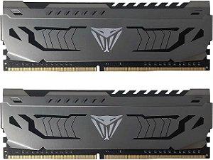 Patriot Viper Steel 16 GB (2x8GB) 288 pinos DDR4 3000 MHz (PC4 24000) - PVS416G300C6K