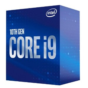 Processador Intel Core i9-10900F, Cache 20MB, 2.8GHz (5.2GHz Max Turbo), LGA 1200 - BX8070110900F