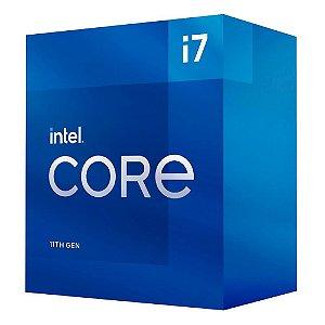 Processador Intel Core i7-11700 11ª Geração, Cache 16MB, 2.5 GHz (4.8GHz Turbo), LGA1200 - BX8070811700