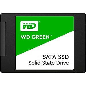 SSD WESTERN DIGITAL GREEN 2.5' SATA - SELECIONE A CAPACIDADE