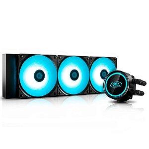 Water Cooler DeepCool Gammaxx L360 V2 (AMD - Intel) - Anti-Leak - LED RGB - DP-H12RF-GL360V2C