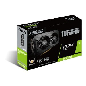 Placa De Video Asus Geforce Gtx 1660 Super Tuf-gtx1660s-o6g-gaming 6gb Gddr6 192 Bits Dual Fan