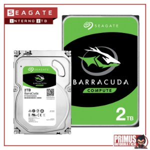 HD SEAGATE BARRACUDA 2TB 7200RPM 64MB SATA III ST2000DM006