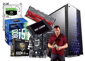 PC GAMER CORE I5 7400 8GB 1TB VIDEO 4GB NVIDIA