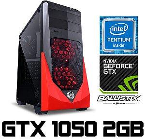 PC Gamer Moba BOX Intel PC Gamer Intel Pentium Kaby Lake G4560, 8GB DDR4, SSD 120GB, Geforce GTX 1050 2GB
