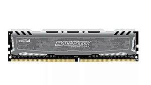 Memória Crucial Ballistix Sport LT 16GB 2400Mhz DDR4 CL16 Grey - BLS16G4D240FSB