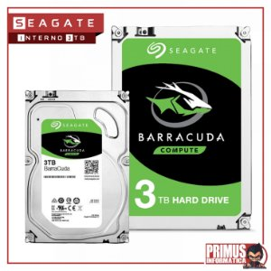 HD SEAGATE BARRACUDA 3TB 64MB CACHE SATA 6.0GB/S 3.5  ST3000DM007