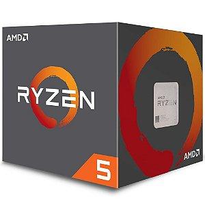 Processador AMD Ryzen 5 2600, Cooler Wraith Stealth, Cache 19MB, 3.4GHz (3.9GHz Max Turbo), AM4 - YD2600BBAFBOX