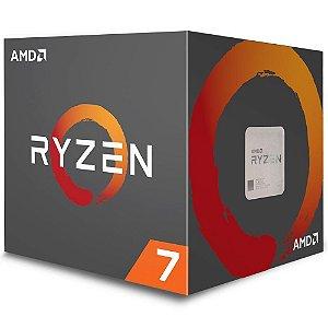 Processador AMD Ryzen 7 2700, Cooler Wraith Spire, Cache 20MB, 3.2GHz (4.1GHz Max Turbo), AM4 - YD2700BBAFBOX