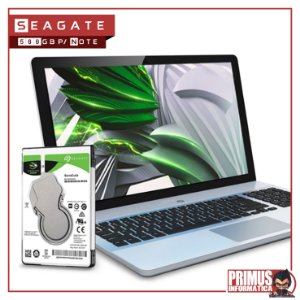 HD Seagate SATA 2,5´ p/ Notebook Laptop BarraCuda 500GB 5400RPM SATA 6.0Gb/s - ST500LM030