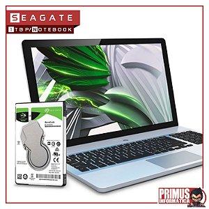 HD Seagate SATA 2,5´ p/ Notebook Laptop BarraCuda 1TB 5400RPM 128MB Cache SATA 6.0Gb/s - ST1000LM048