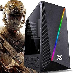 PC GAMER AMD RYZEN 3 2200G 3.5GHZ, 8GB DDR4, SSD 240GB, 500W, GABINETE GAMER, Roda Fortinite