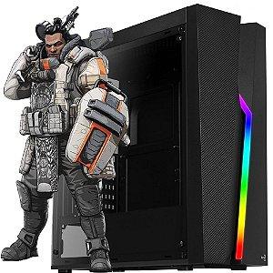 PC GAMER AMD RYZEN 5 2400G 3.6GHZ, 16GB DDR4, SSD 240GB, 500W, GABINETE GAMER, Roda Fortinite