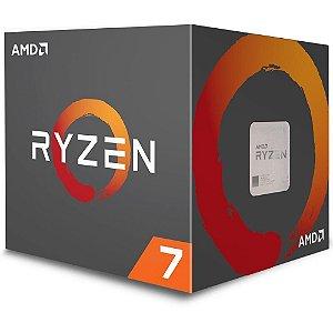 Processador AMD Ryzen 7 2700X, Cooler Wraith Prism, Cache 20MB, 3.7GHz (4.35GHz Max Turbo), AM4 - YD270XBGAFBOX