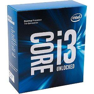 Processador Intel Core i3-7350k Kaby Lake 7a Geração, Cache 4MB, 4.2GHz LGA 1151, Intel HD Graphics 630 BX80677I37350K