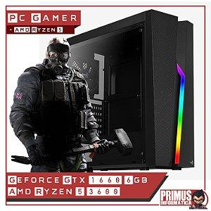 PC Gamer AMD Ryzen 5 3600 16gb DDR4 480gb 500w GTX 1660 6gb
