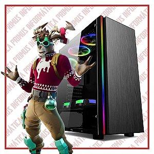 Computador Gamer Intel Core I3 9100f, 8gb DDR4, SSD 240gb, Fonte 500w, Geforce GT 1030 2gb