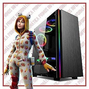 Computador Gamer Intel Core I3 9100f, 16gb DDR4, SSD 240gb, Fonte 500w, Geforce GTX 1650 4gb