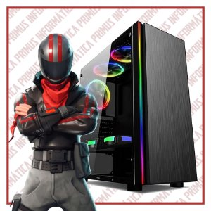 Computador Gamer Intel Core I3 9100f, 16gb DDR4, SSD 240gb, Fonte 500w, Geforce GTX 1660 6gb