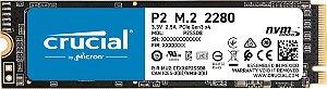 SSD M.2 NVME CRUCIAL P2