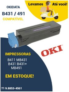 OKIDATA B411 MB431 B431 B431+ MB491