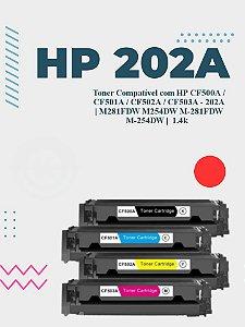 HP CF503A 202A VERMELHO