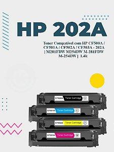 HP CF502A 202A AMARELO