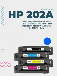HP CF501A 202A CIANO