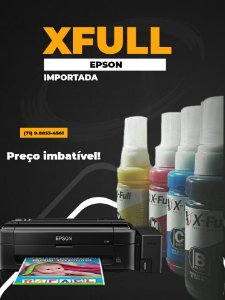 Tinta Bulk Ink Para Epson Ecotank 100ml Xfull Ultra T664/774