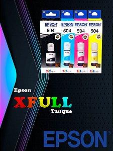Tinta Bulk Ink Para Epson Ecotank 100ml Xfull Ultra T504/544