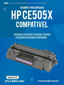 HP CE505X CE505X | P2035 P2055 P2035N P2055N P2055X P2055DN