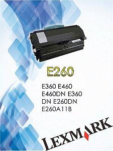 LEXMARK E260 |E360 E460 E460DN E360DN E260DN E260A11B