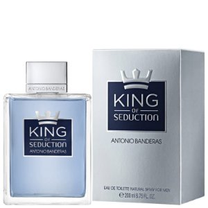 PERFUME ANTONIO BANDERAS KING OF SEDUCTION MASCULINO EAU DE TOILETTE