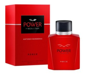 PERFUME ANTONIO BANDERAS POWER OF SEDUCTION FORCE MASCULINO EAU DE TOILETTE 100ML