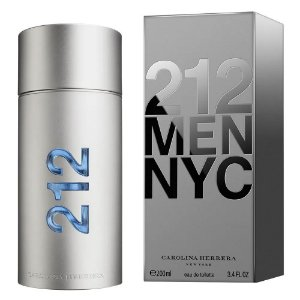PERFUME CAROLINA HERRERA 212 MEN NYC EAU DE TOILETTE