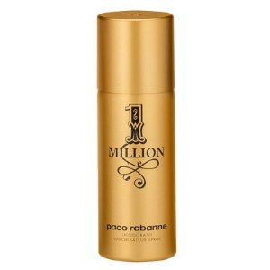 DESODORANTE PACO RABANNE 1 MILLION MAN - SPRAY MASCULINO 150ml