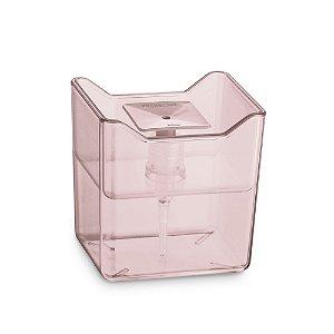 Porta Detergente Premium Rosa translucido de Plastico UZ