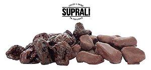 Ameixa seca banhada em chocolate 70% cacau (200g)