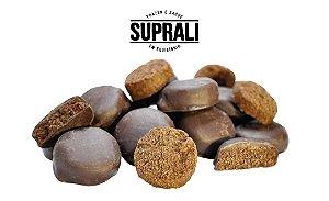 Cookies de cacau banhados em chocolate 70% cacau (200g)