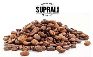 Grãos de café premium torrados (200g)