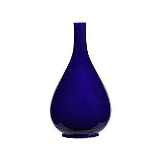 Vaso Azul Big Solitario G