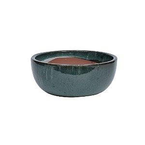 Vaso Ceramica Verde P