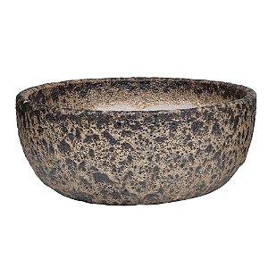 Vaso Ceramica Ferrugem G