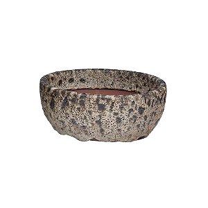 Vaso Ceramica Ferrugem P